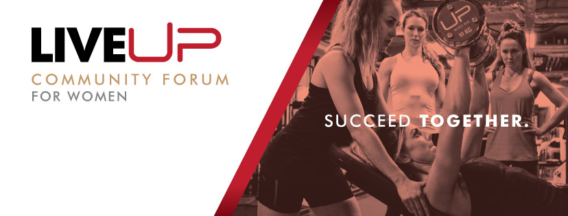 LiveUP community forum for women
